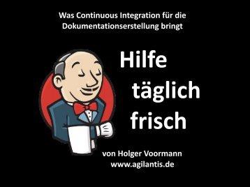 Was Continuous Integration für die ... - tekom