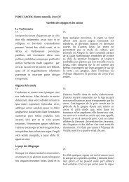 PLINE L'ANCIEN, Histoire naturelle, Livre XIV Variétés des ... - Cndp