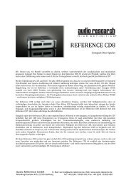 REFERENCE CD8 - Audio Reference