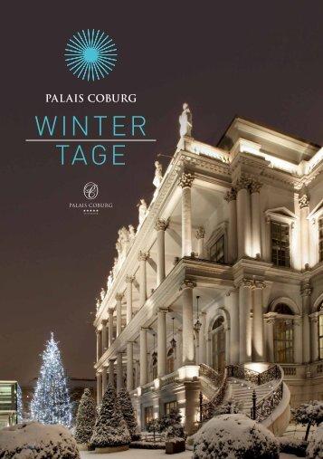 Winter tage - Palais Coburg
