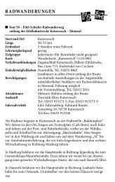 Tour 58 - Landkreis Cochem-Zell
