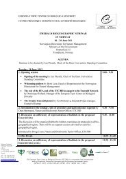 Draft agenda - Council of Europe