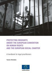 protecting migrants under the european convention on human rights ...