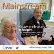 January 2012 - Colchester Hospital University NHS Foundation Trust