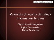 Introductions - Columbia University