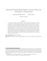 Downward Nominal Wage Rigidity, Currency Pegs, and Involuntary ...