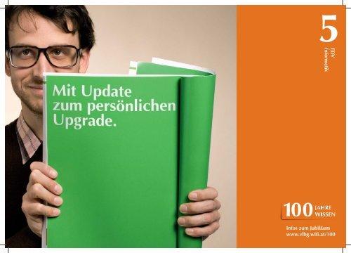 5ED V Informatik Infos zum Jubiläum www.vlbg.wifi.at/100