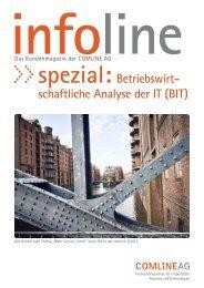 spezial:Betriebswirt- schaftliche Analyse der IT (BIT) - Comline AG