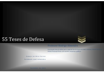 55 Teses de Defesa