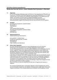 Nichtoffener Realisierungswettbewerb Neubau ... - Competitionline