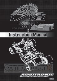 Robitronic Scalpel Manual - CompetitionX.com