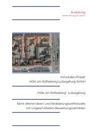 Auslobung (PDF) - Competitionline