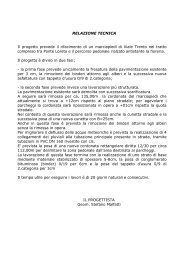 relazione tecnica ita-ted - Comune di Bolzano