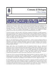 L'Assessore Lepore illustra le azioni in materia di new media per la ...