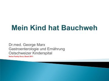Mein Kind hat Bauchweh - congress-info.ch | Home