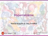 Hypercalcämie