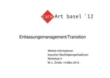 Zindel Marielouise Entlassungsmanagement/Transition