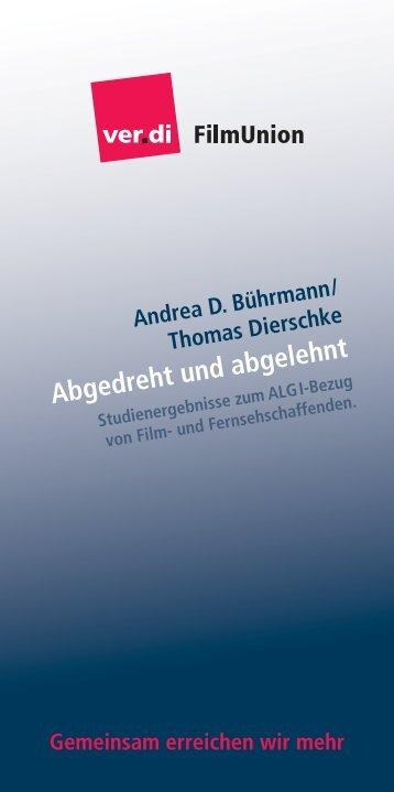 """Studie """"Abgedreht und abgelehnt"""" - connexx.av"""