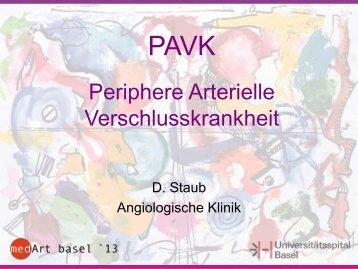 Periphere arterielle Verschlusskrankheit (PAVK)