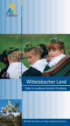 Wittelsbacher Land - context verlag Augsburg