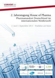 2. Jahrestagung House of Pharma - Convent