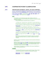 A61K - Cooperative Patent Classification