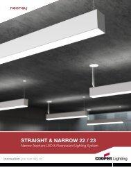 STRAIGHT & NARROW 22 / 23 - Cooper Industries