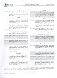Vol. 98, No. 6 Forum - Corpoica