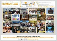 Human Law - Cottbus