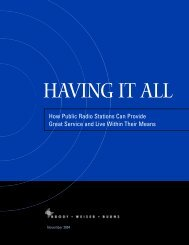 Having it All: How Public Radio Stations Can Provide Great Service ...