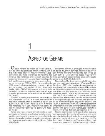 ASPECTOS GERAIS - CPRM