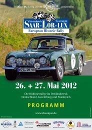 Programmheft 2012 - Saar-Lor-Lux Classique