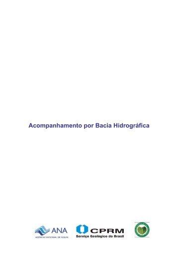 Boletins de Acompanhamento por Bacia Hidrográfica - CPRM