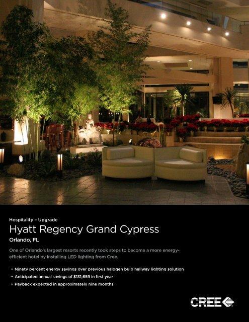 Hyatt Regency Grand Cypress Orlando Fl Cree Inc