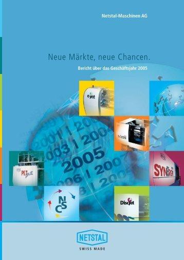Neue Märkte, neue Chancen.