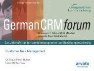 Customer Risk Management - CRM Finder