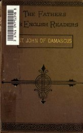 st. john of damascus (676-749 - Cristo Raul