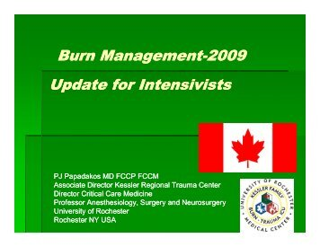 Burn Management Burn Management-2009 Update for Update for ...
