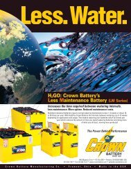 *Water Batteries Sell Sheet.pm7 - Crown Battery