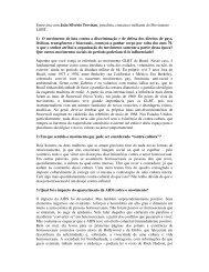Entrevista com João Silvério Trevisan, jornalista, cineasta e militante ...