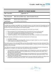 BSBV Update.pdf - Croydon Health Services NHS Trust