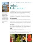 Adult Education - New York Botanical Garden - Page 2