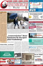 Neuer Kunstrasen für den Sport- platz Freudenberg?