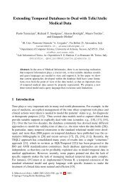 S. Miksch et al. (Eds.): AIME 2005, LNAI - CiteSeerX
