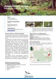 JEMMERITZER MOOR - NABU-Stiftung Nationales Naturerbe