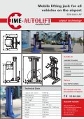 Mobile lifting jack for all vehicles on the airport - Autolift Gmbh - Page 2