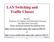 LAN Switching and Traffic Classes