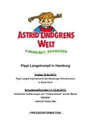 Pippi Langstrumpf in Hamburg Freitag 10.02.2012 - Bock Schröder PR