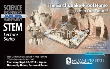 The Earthquake-Proof Home - California State University, Sacramento