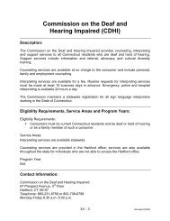 Commission on the Deaf and Hearing Impaired (CDHI) - CT.gov
